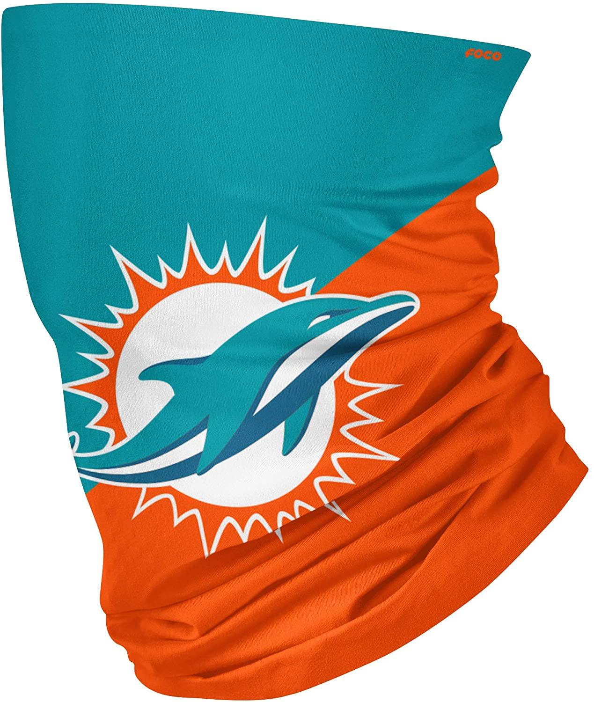 FOCO Unisex-Youth NFL Big Logo Multi-Use Neck Gaiter