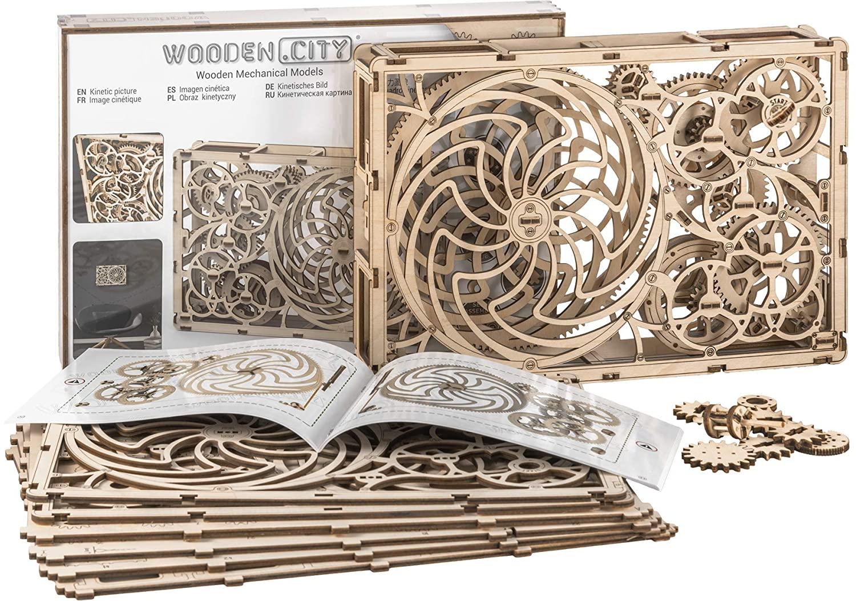 DIY Wooden Mechanical Model Set