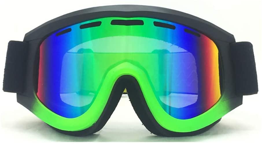 Ski Goggles, Snowboard Goggles Anti Fog 100% Uv Protection Double Laye Lenses Helmet Compatible But Women Skiing