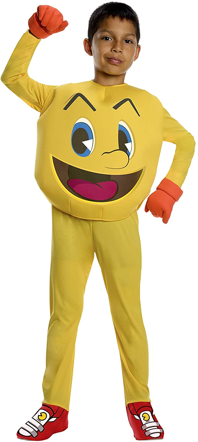 Pac-Man and The Ghostly Adventures Deluxe Pac-Man Costume, Large