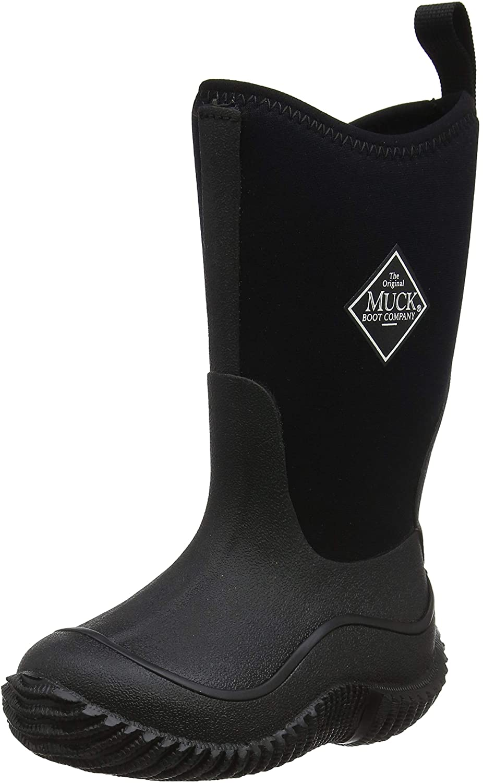 Muck Boot baby boys Hale - K athletic sandals, Black/Black, 12 Little Kid US