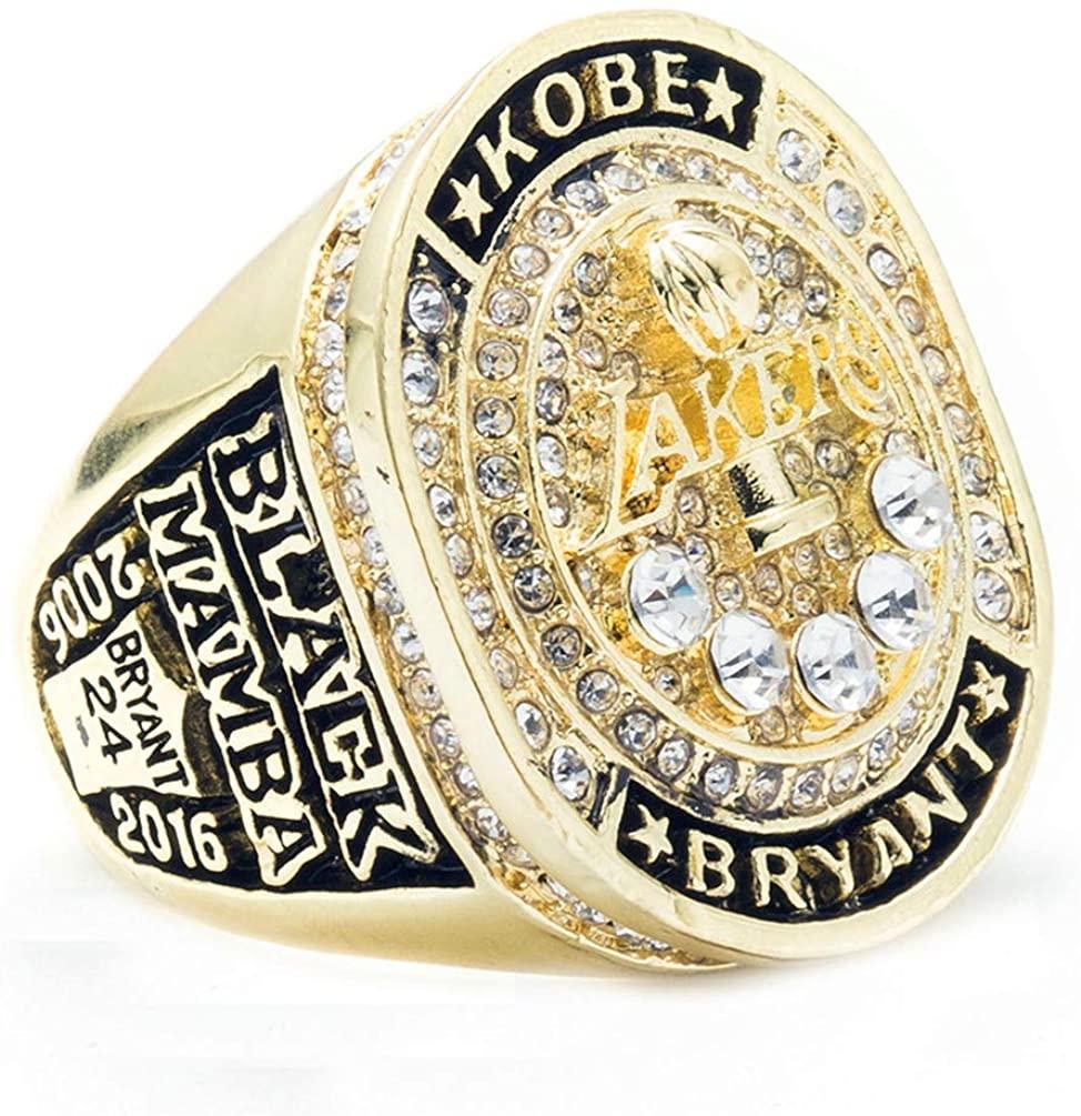 BOAI Mens Jewelry Titanium Steel 2016 Year Championship Rings