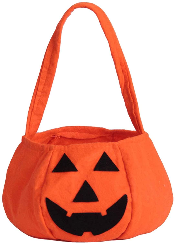 ZOEREA Halloween Pumpkin Bag Kids Candy Bag for Halloween Party Costumes