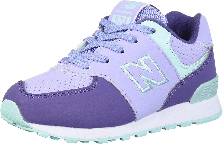New Balance Unisex-Child 574 V1 Winter Sneaker