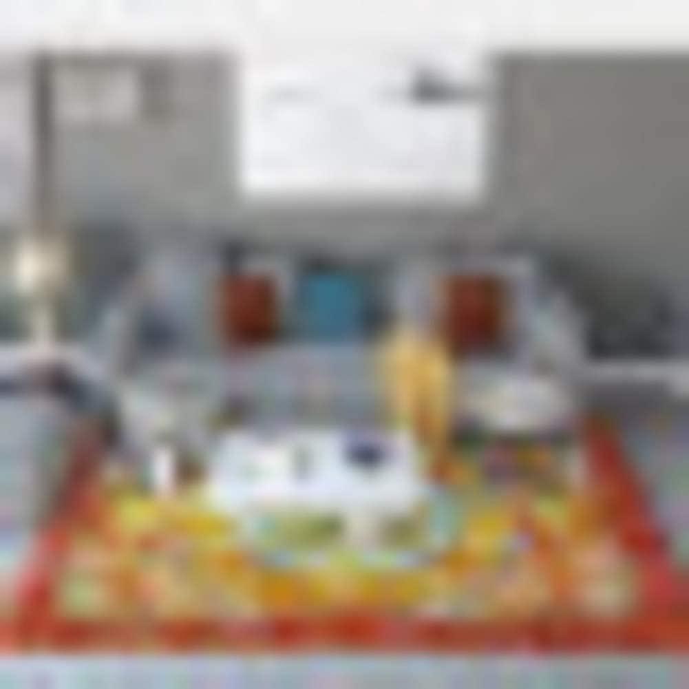 LJ&XJ Moderno Resumen Arte Alfombra, Norte europeo Sofá Mesa Moquetas Antideslizante Sala de Estar Niño Estera de rastreo-O 140x200cm(55x79inch)