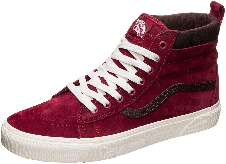 Vans Sk8 - Hi MTE Fashion Sneaker Shoes 5.5 Men's / 7 Women's Biking Red