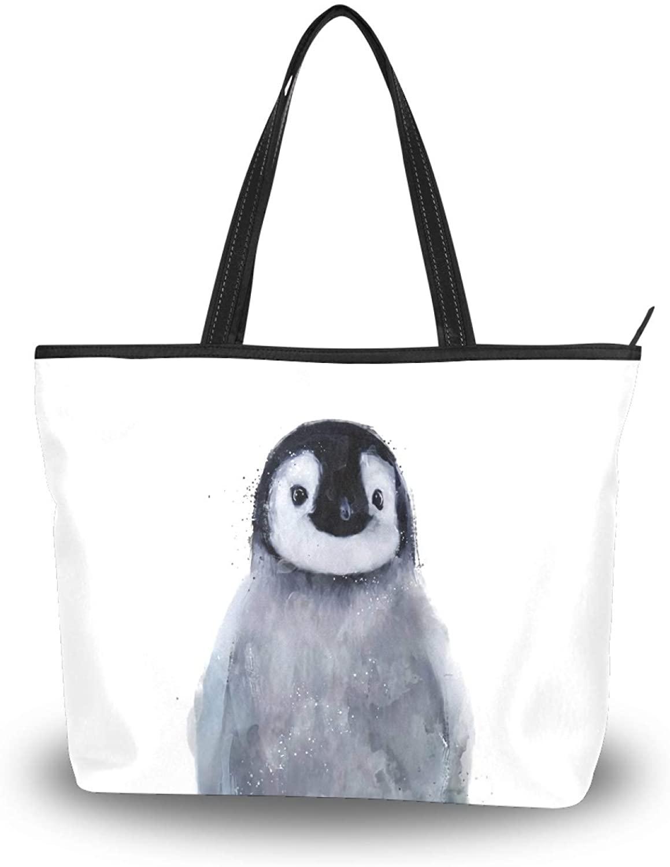 Tote Bag Shoulder Bags for Women, Top-Handle Handbags Zipper Closure Organizer for Travel Daily