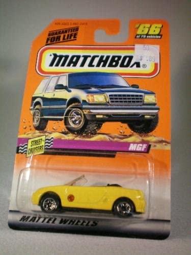 Matchbox 1997 Series 10 Street Cruisers 1:56 MGF Die Cast Car Collector #66