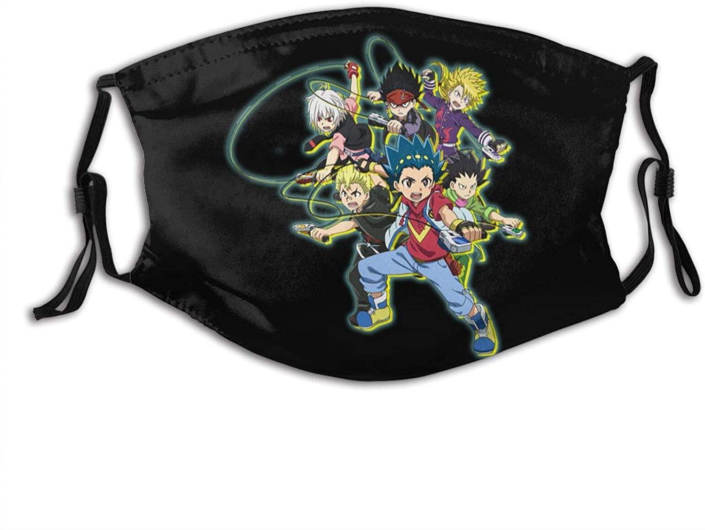 Be-Yblade Face Mask Adult Kids Men'S Dust Reusable Mask Unisex With Filter (Multiple Filter Packs)