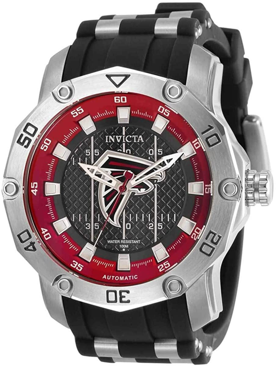 Invicta NFL Atlanta Falcons Automatic Black Dial Men's Watch 32009