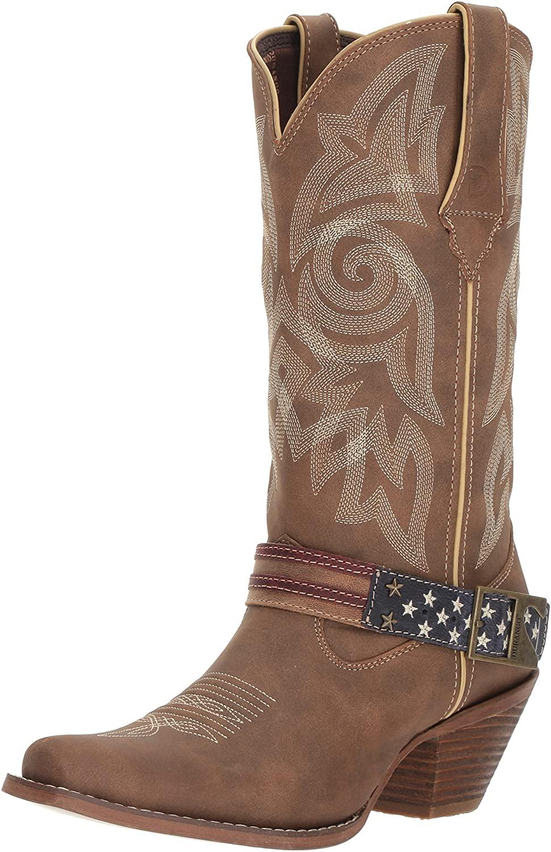 Durango Crush Women's Flag Accessory Western Boot