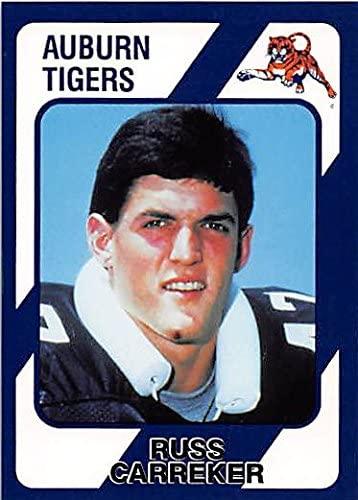 Russ Carreker Football Card (Auburn Tigers) 1989 Collegiate Collection #194
