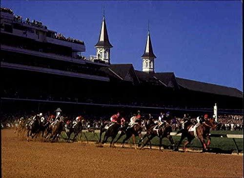 Kentucky Derby, Churchill Downs Louisville KY Original Vintage Postcard