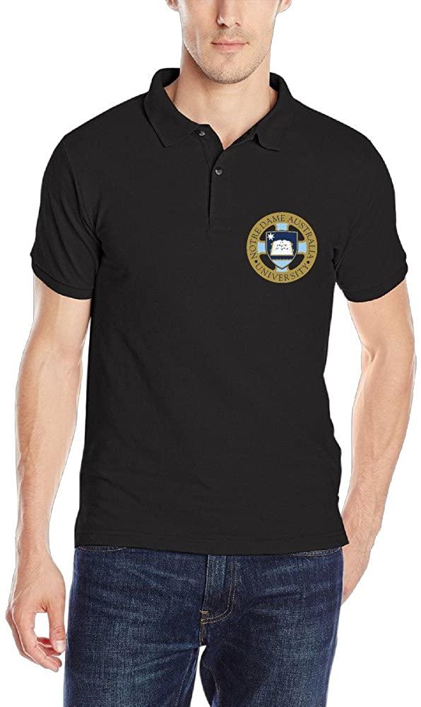 University of Notre Dame Australia Logo Classic Polo T-Shirt for Men[ -