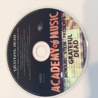Grateful Dead Academy of Music 3/72 Bonus Disc (Dicks Picks 30)