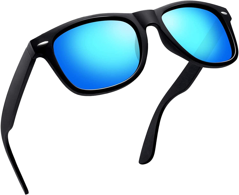 Joopin Unisex Polarized Sunglasses Men Women Retro Designer Sun Glasses