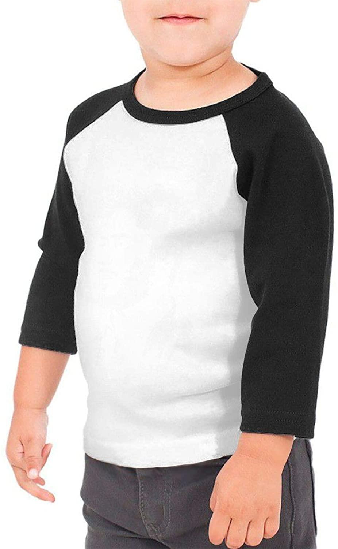 Fp-Linked Thomas Rhett Kids' Cotton Youth 3/4 Sleeve T-Shirt Black
