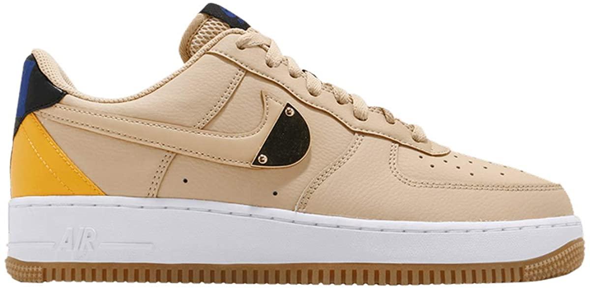 Nike Men's Shoes Air Force 1 '07 LV8 Sesame University Gold CT2298-200 (Numeric_10)