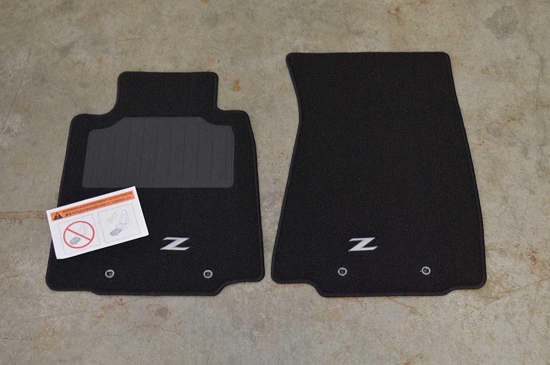 Nissan Genuine 999E2-ZVH00 Carpeted Floor Mat (Black), 1 Pack