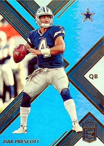 Dak Prescott football card (Dallas Cowboys) 2017 Elite #24 Refractor