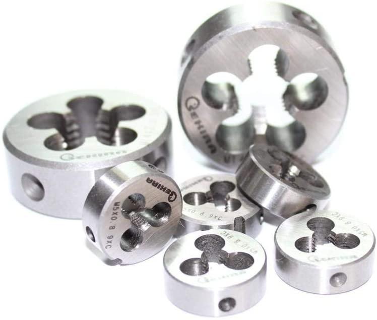 65mm X 2 Metric Right Hand Round Die, Machine Thread Die 65 x 2mm Pitch (Material Steel 9HS))
