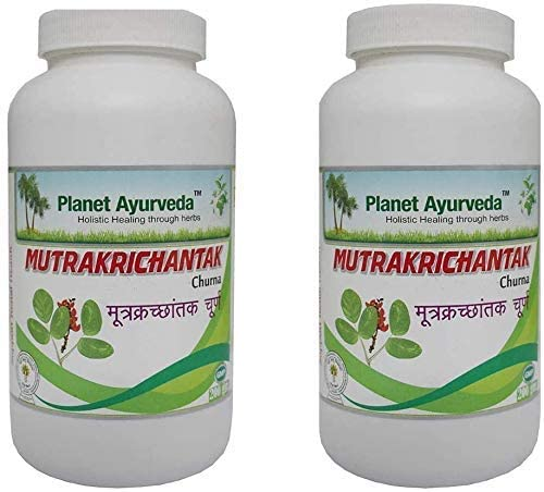 Planet Ayurveda Mutrakrichantak Churna | Herbal Remedy for Strong Kidneys and Urinary Tract Support| Controls Urea Levels, Pure Vegetarian Formula | 200GM Pack of 1