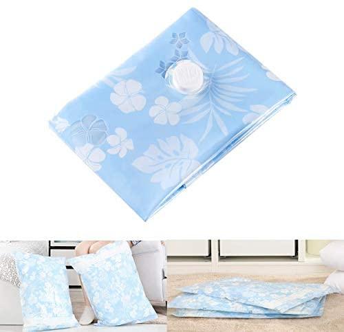 Store Space Saving Orchids Pattern Vacuum Storage Bag, Thinken Quilts Clothing Vacuum Seal Storage Bag, Size: 100130 cm.