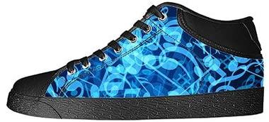 Daniel Turnai Fan Custom Music and Guitar Womens Classic High Top Canvas Shoes Fashion Sneaker