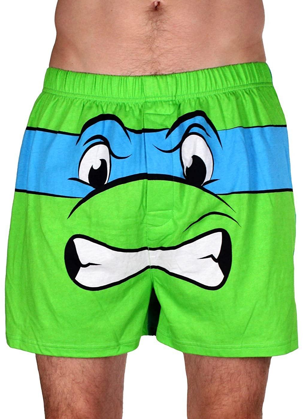 Underboss Men's Teenage Mutant Ninja Turtle Leonardo Boxer Shorts