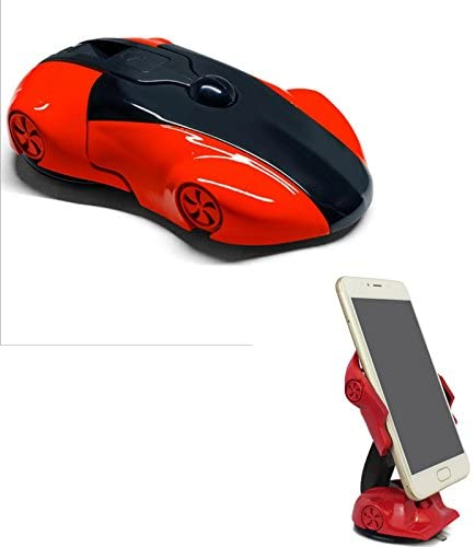 CM,Cool Sports car Model Car Cellphone Mount Holder,Powerful Sticky Sucker Designed For Dashboard/Windshield suitable for iPhone Andrews system phone and others (red)