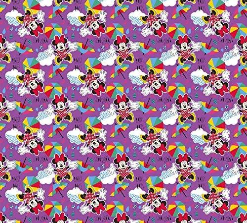 1art1 Mickey Mouse Window Curtain - Minnie Mouse, Ta-DAA (71 x 63 inches)