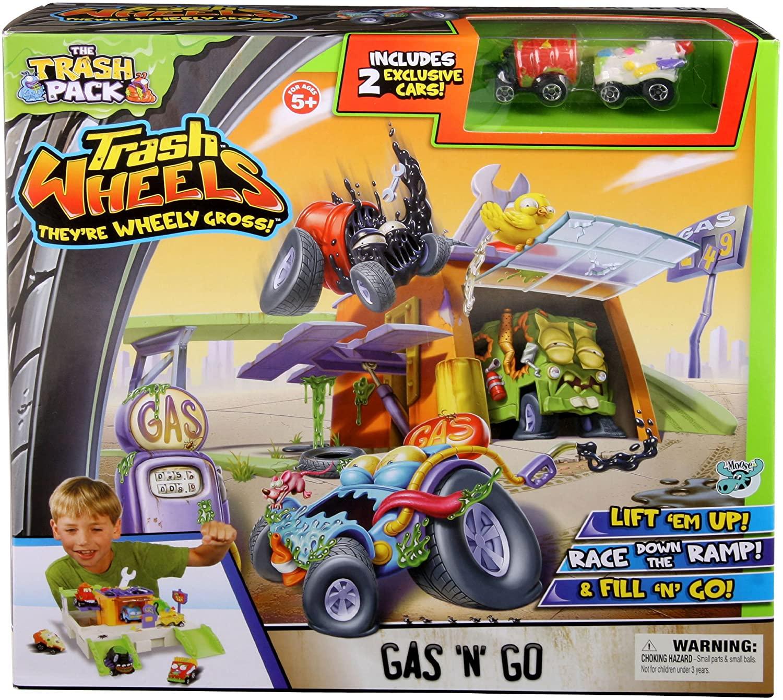 Trash Pack Wheels Gas 'N' Go Playset