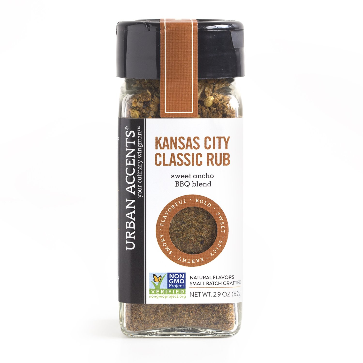 Kansas City Classic Rub – Gluten Free Seasoning Mix for Grilling and Roasting - Urban Accents, 2.9-Ounce