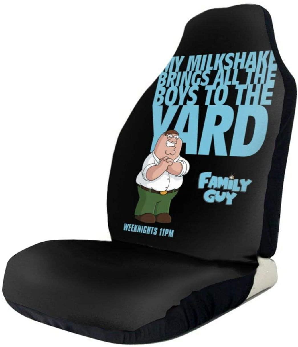 Lingassassin Family Guy Most Car SUV Van Truck Sedan Polyester Car Seat Covers