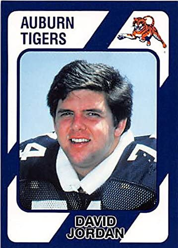 David Jordan Football Card (Auburn Tigers) 1989 Collegiate Collection #95