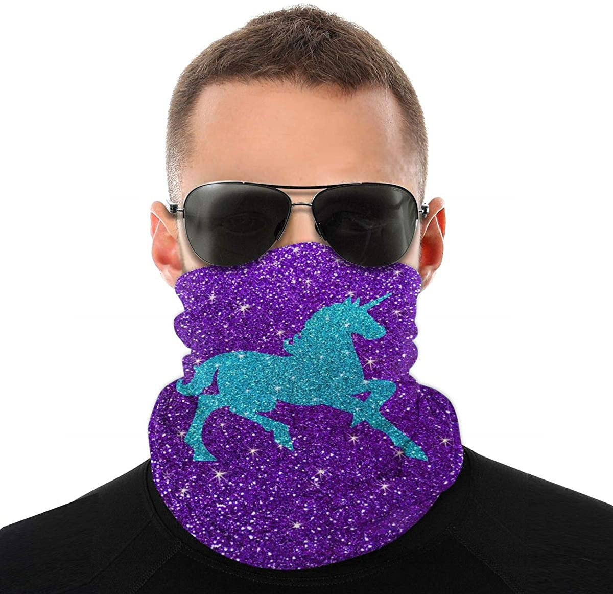 Seamless Face Cover, Neck Gaiter Bandana Cooling Magic Headbands Scarf for Motorcycling Hiking