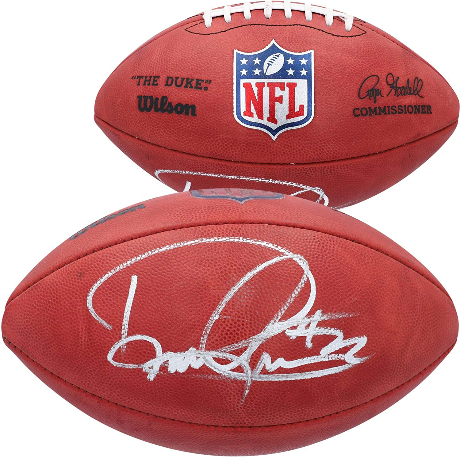 Derrick Henry Tennessee Titans Autographed Duke Game Football - Autographed Footballs