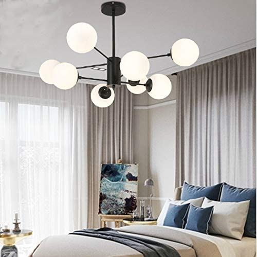 YINZHI Ceiling Pendant Lights Personality Creative Magic Beans Modern Minimalist Living Room Lamp Dining Room Bedroom LED Atmosphere Chandelier, 8 Heads