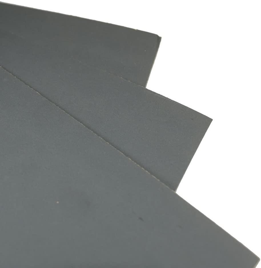 5 Sheets -Grit 1500 Waterproof Paper 9