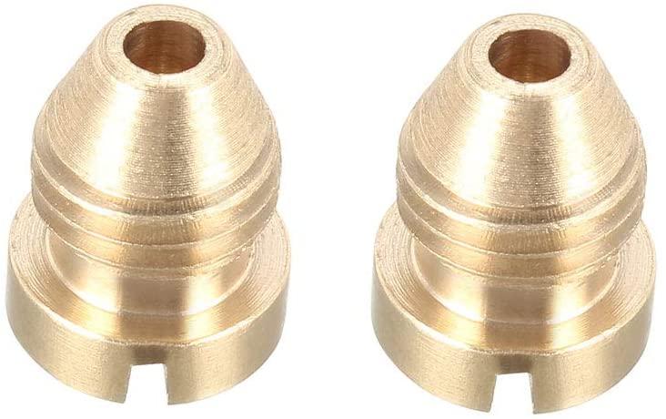 uxcell 1.25mm Foam Orifice Nozzle Tip, Universal Thread Tips for Snow Foam Lance, 2 Pcs