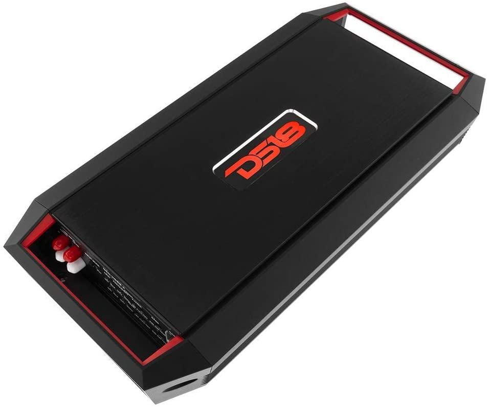 DS18 GEN-X900.4D Full Range Bridgeable 4-Channel 900w Peak/90w RMS @ 2 Ohm CEA Compliant 2, 4 Ohm Stable Class A/B Mono Car Amplifier with Remote Subwoofer Control