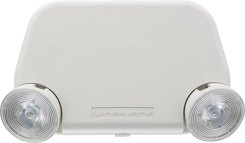 Lithonia Lighting EU2L REM M12 LED Emergency Light, 2 Watts, RRemote Enabled