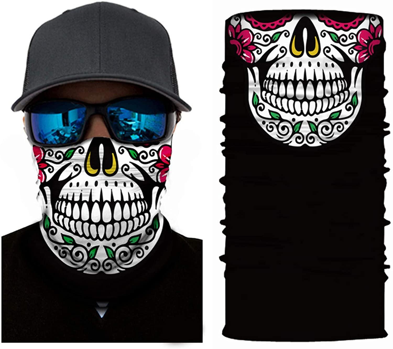 Fyloving Magic Scarf Face Breathable Balaclava UV Face Scarf Fashion-Scarves