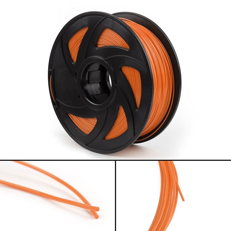 CHENDGE2 3x3D Printer Filament 1.75mm PLA 1kg/2.2lb for Drawing Printer Pen MakerBot Orange