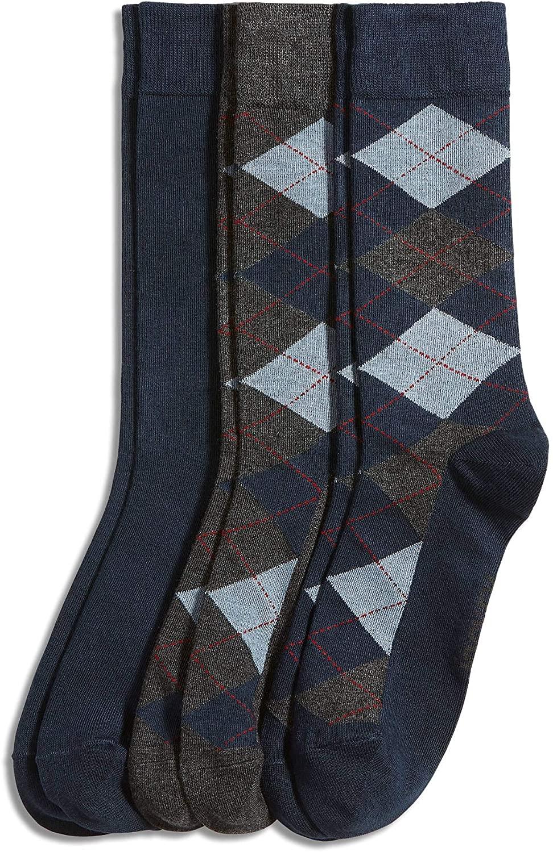 Jockey Men's Socks Men's Argyle Dress Socks - 3 pack
