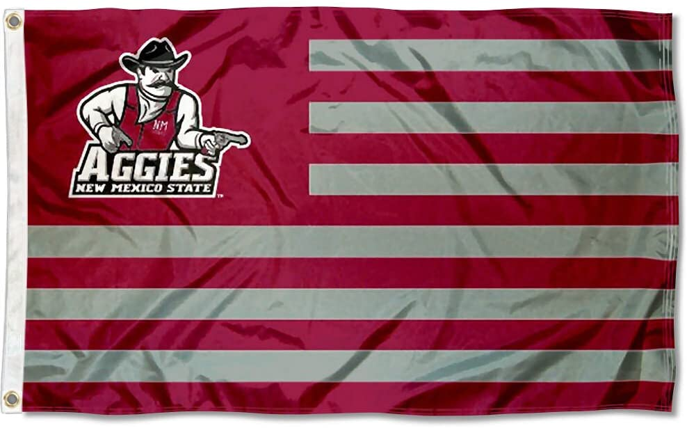 College Flags & Banners Co. New Mexico State Aggies Stars and Stripes Nation Flag