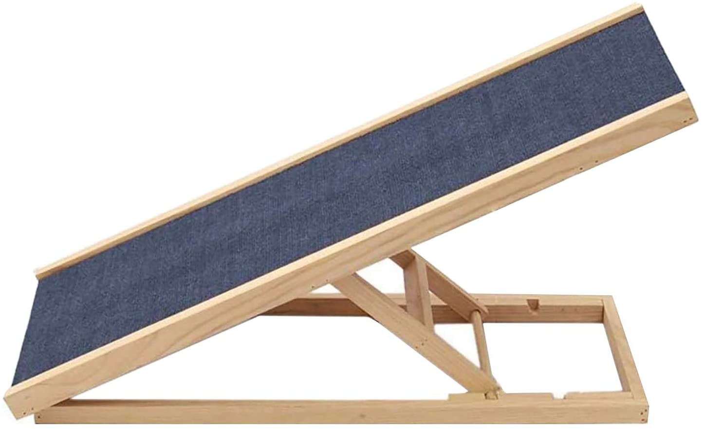 Wood Halloween Pet Ramp, Dog/Cat Easy Step, Extra Foldable Portable Dog Ramp for Dogs/Cats up to 90lbs,Lightweight Dog Car Ramps Stairs for Cars, Trucks and Suvs, Dog Safety Ramps for Small/Large Dogs