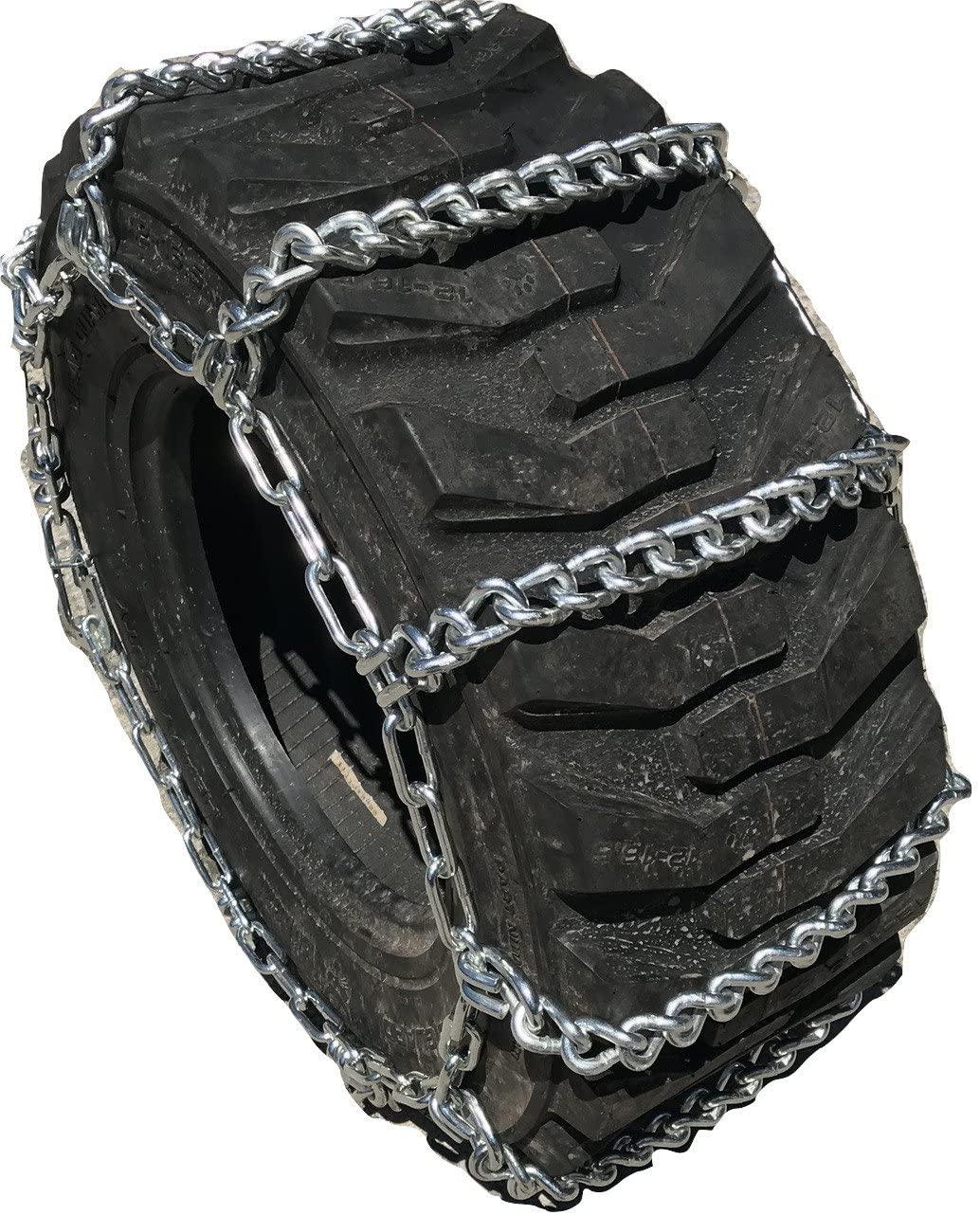 TireChain.com Compatible with John Deere 5090EL Front 7.2-24, 9.5-24, 12.5/80-18 Tire Chains
