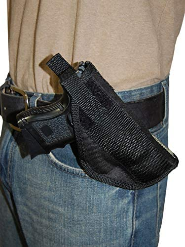 Barsony New Cross Draw Holster for Compact Sub-Compact 9mm .40 .45 Pistols