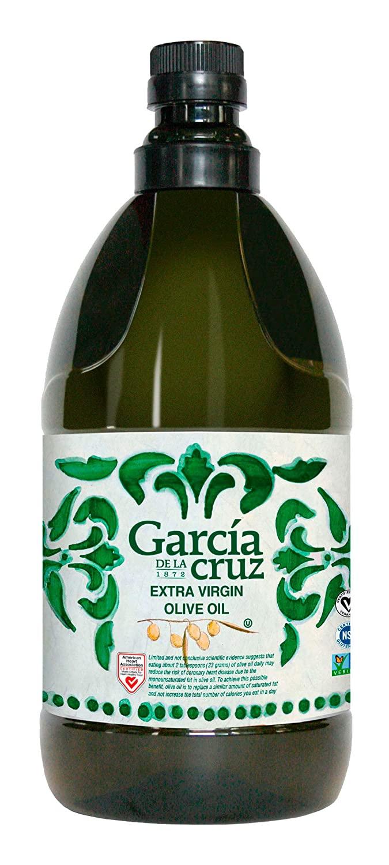 García de la Cruz - Extra Virgin Olive Oil - 67.6 Fl Oz Bottle (2 Liters)